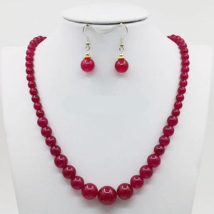 Authentic Healing Carnelian Stones Jewelry Set