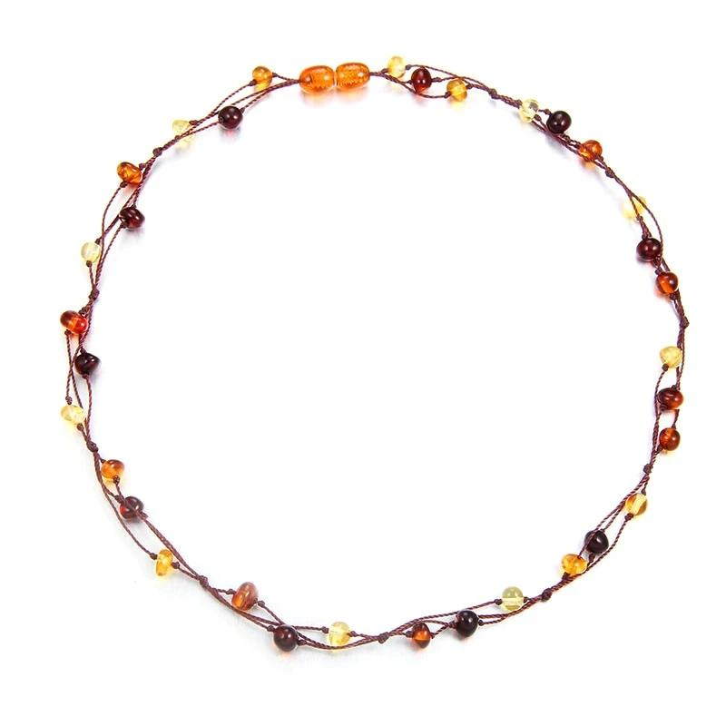 Natural Healing Baltic Amber Necklace