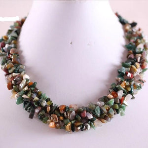"Genuine Healing Stones Necklace 18"" 14 Varieties"