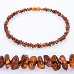 Genuine Healing Baltic Amber Bracelet or Necklace 7 Colors Baby and Adult Sizes