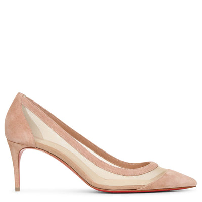 Galativi 70 courtisane suede pumps