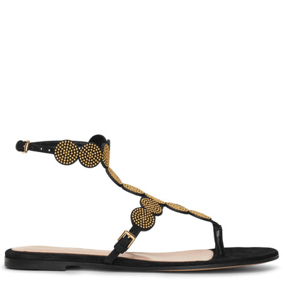 Babylon studded suede sandals