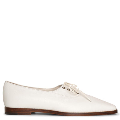 Mitiade leather lace-up flats