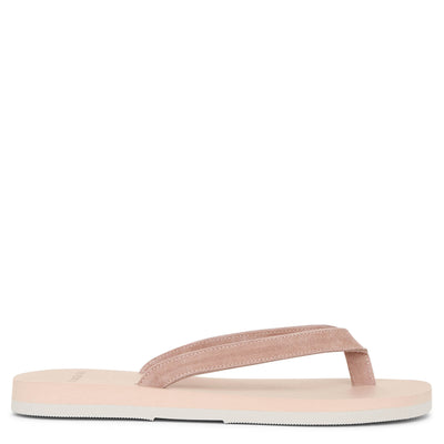 Dusty pink sude sandals