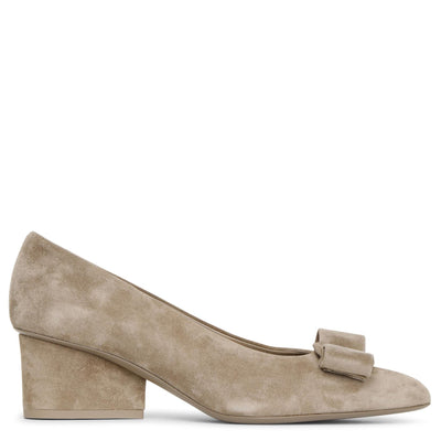 Viva 55 suede bay leaf pumps