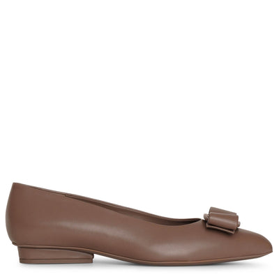Viva caraway seed leather flats