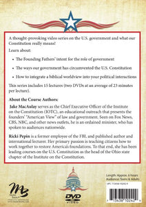 Civics and the Constitution (DVD Instructions)