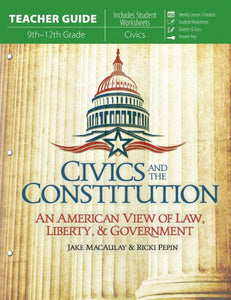 Civics and the Constitution (Homeschool Curriculum Pack)
