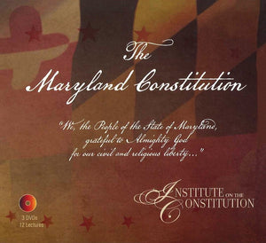Maryland Constitution Course Lectures