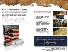 Load image into Gallery viewer, U.S. Constitution Course Promotional Flyer