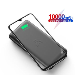 Baseus 10000mAh Wireless Charge Power Bank - FeelLikeShopping.com