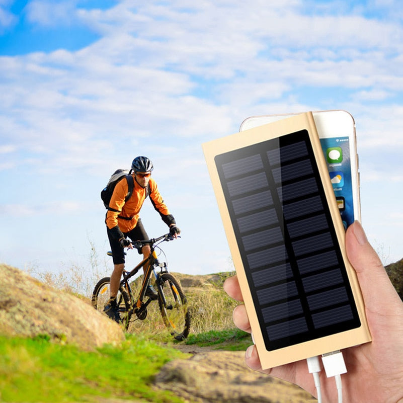 Smooth Solar Power Bank 30000mah - FeelLikeShopping.com