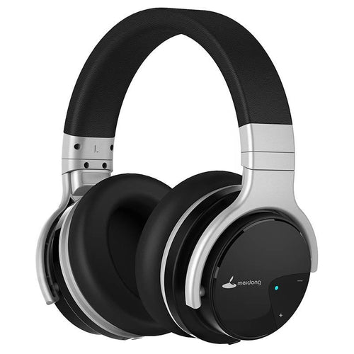 Meidong E7B Active Noise Cancelling Wireless Over-The-Ear Headphones with microphone & Deep bass - FeelLikeShopping.com