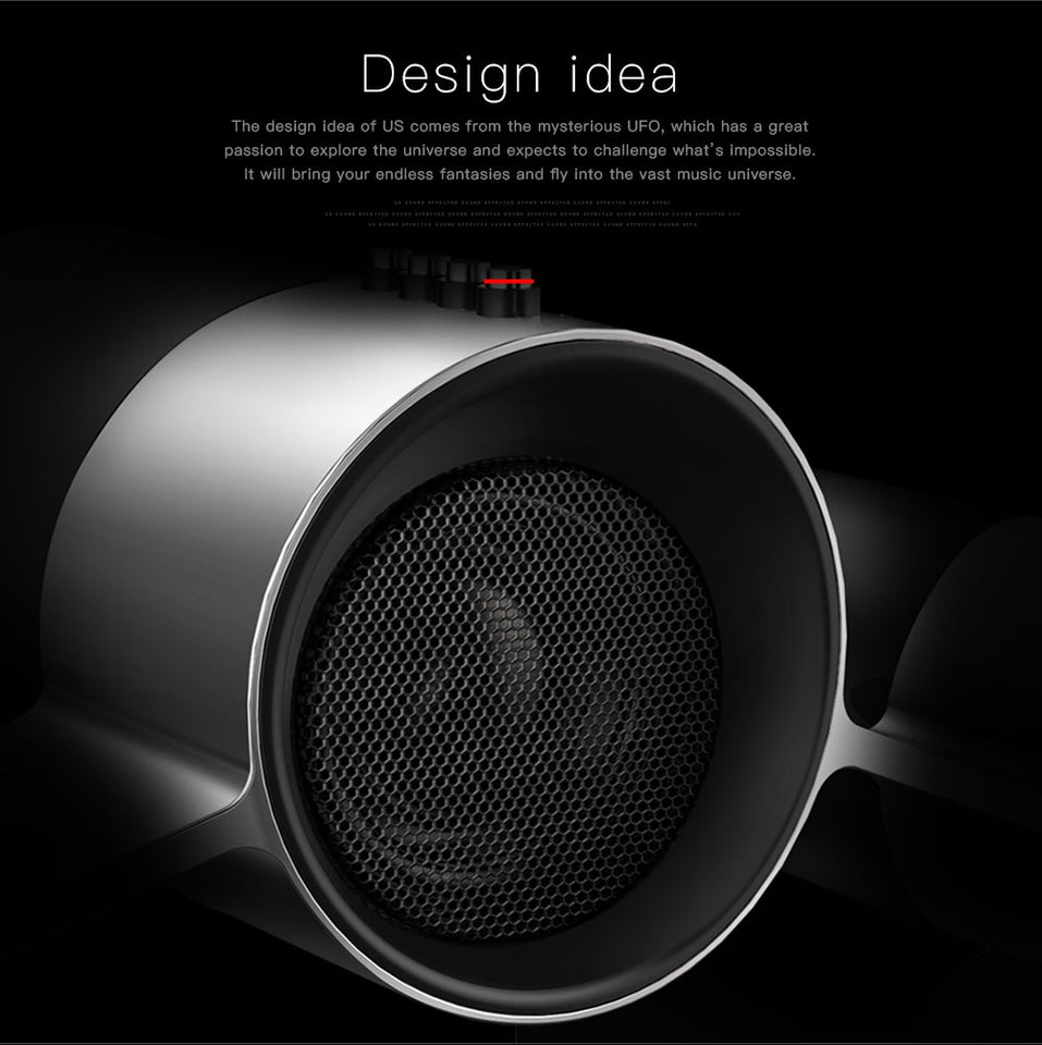 Bluedio Three Drivers Bluetooth speakers with Mic & Deep Bass - FeelLikeShopping.com