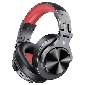 Oneodio Fusion Pro Wired Studio DJ Headphones With Mic + Wireless Bluetooth - FeelLikeShopping.com