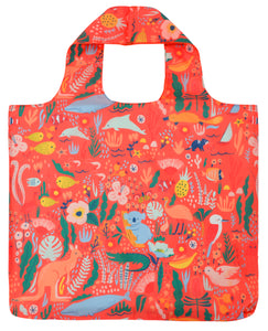 Reusable Tote Bag_Down Under Coral