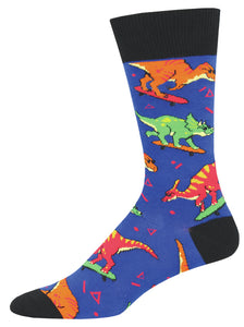 Socksmith Surfing Dinosaur Socks