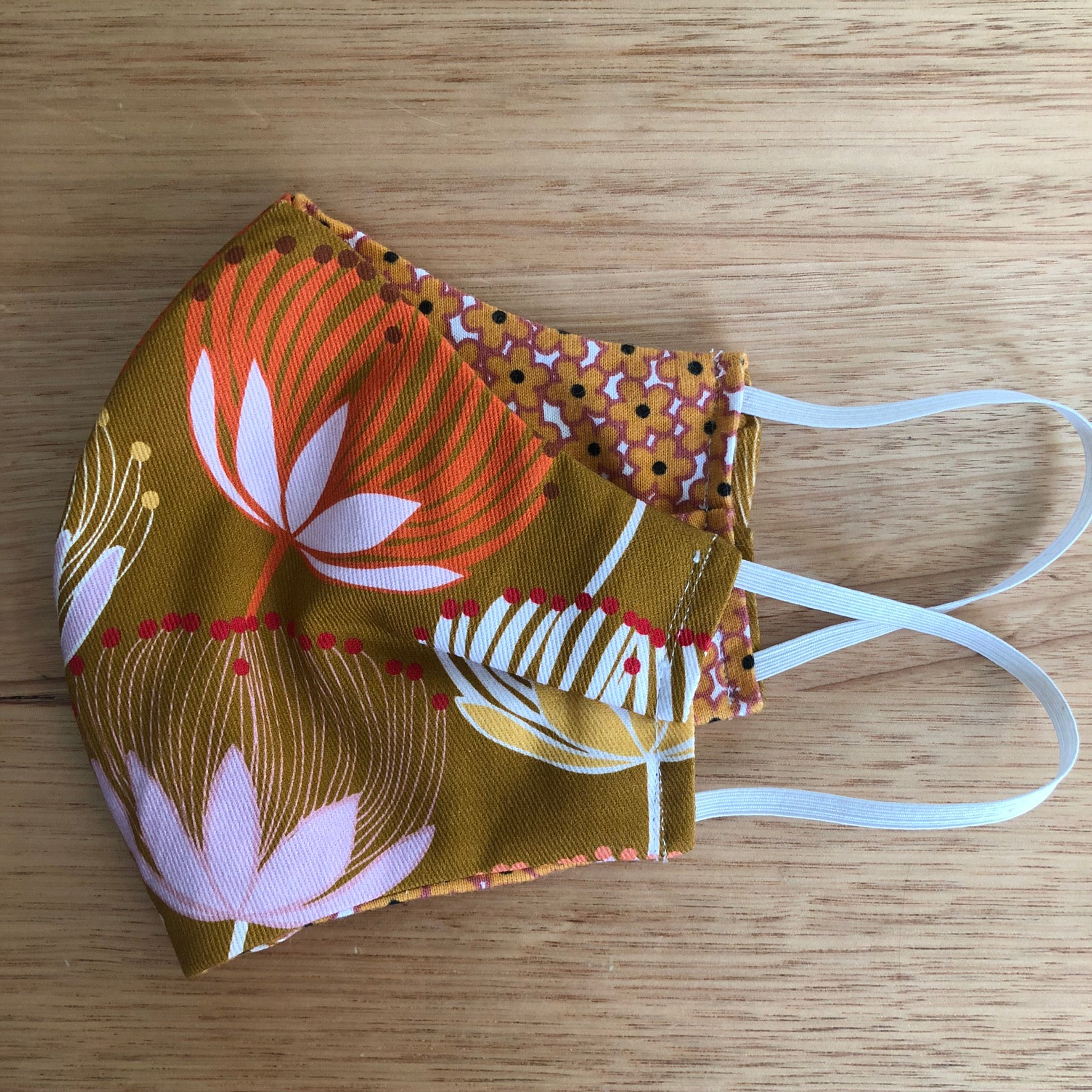 Banksia Print Face Mask