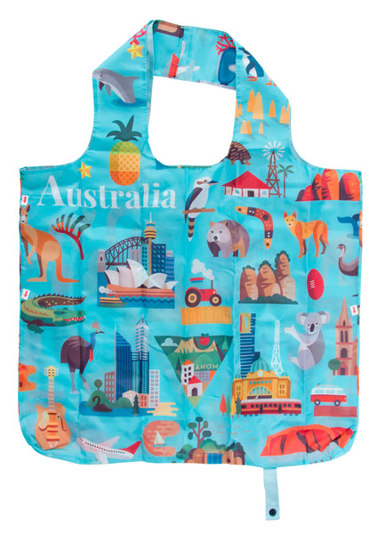 Reusable Tote Bag_Australia Icons