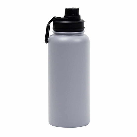 Watermate Drink Bottle – Grey Stainless Steel