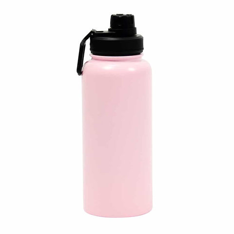 Watermate Drink Bottle – Pale Pink Stainless Steel
