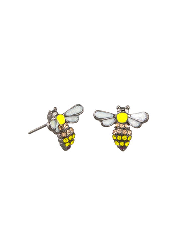 Tigertree Yellow Bee Earrings