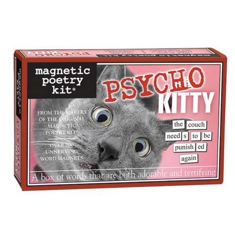 Magnetic Poetry Kit: Psycho Kity