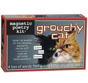 Magnetic Poetry Kit: Grouchy Cat