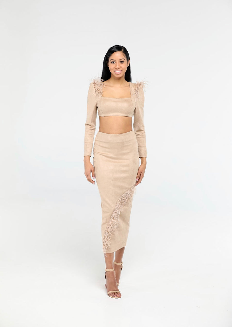 Yani Suede| 2 piece set