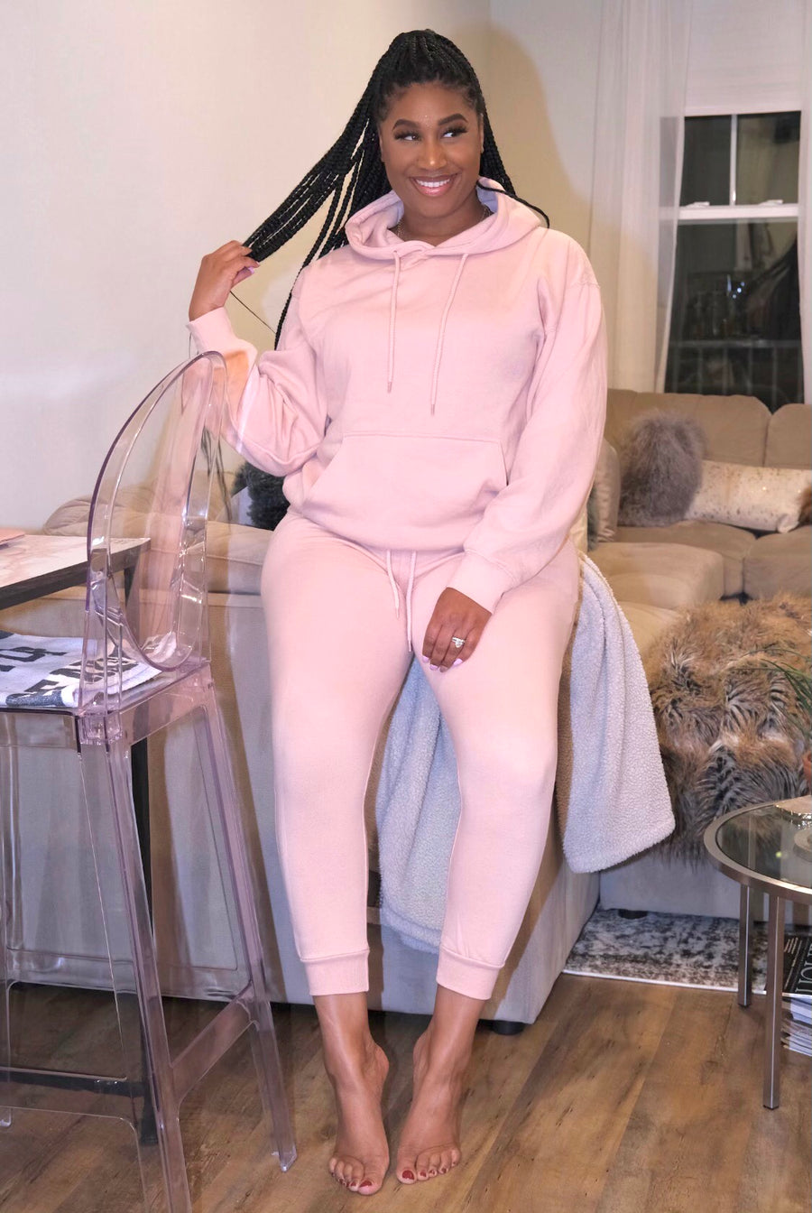 Not So Basic Sweatsuit| Moscato