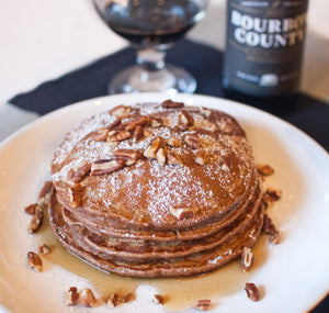 Maple Bourbon Pancakes