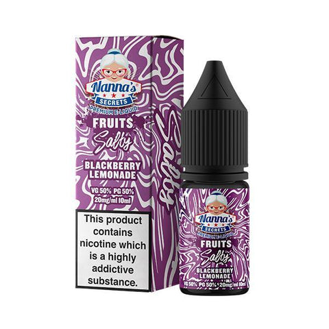 Nanna's Secrets Salty - Blackberry Lemonade - 10mg Nicotine Salt