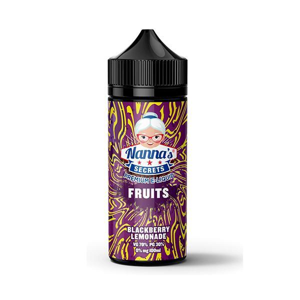 Nanna's Fruits Series -Blackberry Lemonade - 100ml Shortfill