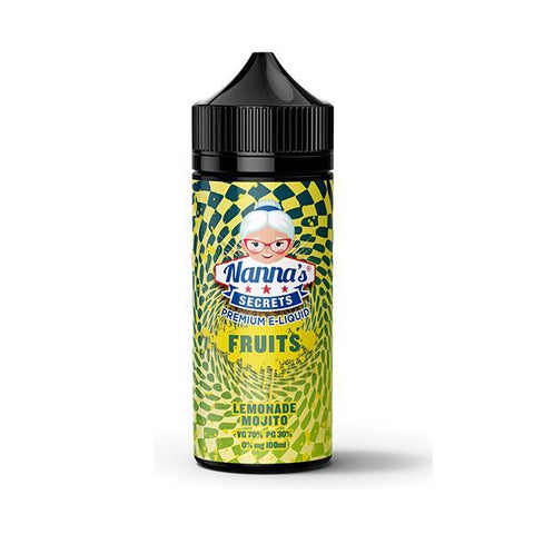 Nanna's Fruits Series - Lemonade Mojito - 100ml Shortfill