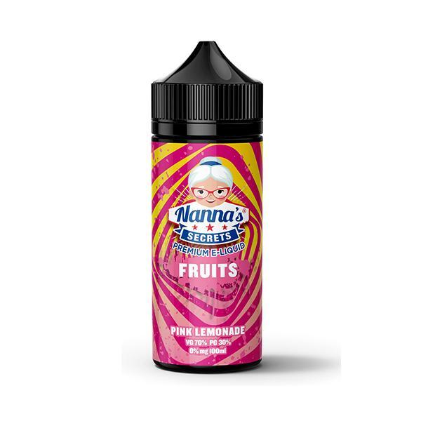 Nanna's Fruits Series - Pink Lemonade - 100ml Shortfill