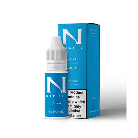 Nic Nic - 70/30  - 15mg 10ml Nicotine Shot
