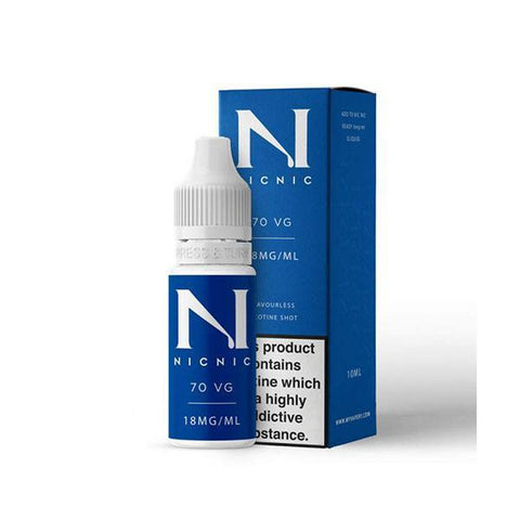 Nic Nic - 70/30  - 18mg 10ml Nicotine Shot