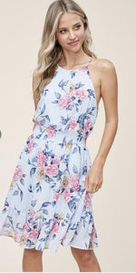 Load image into Gallery viewer, COMING UP ROSES DRESS-Dresses-Staccato-Litchfield Lane Boutique