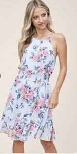 COMING UP ROSES DRESS-Dresses-Staccato-Litchfield Lane Boutique