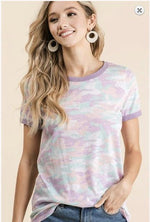 Load image into Gallery viewer, CRAZY BOUT CAMO-Tops-BiBi-Litchfield Lane Boutique