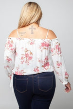 Load image into Gallery viewer, CURVY TIME FOR THE TEA PARTY TOP-Curvy Top-Zenobia-Litchfield Lane Boutique