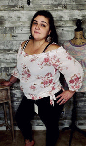 CURVY TIME FOR THE TEA PARTY TOP-Curvy Top-Zenobia-Litchfield Lane Boutique