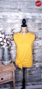DISTRESSED BOYFRIEND TANK-Tank-143 Story-Litchfield Lane Boutique