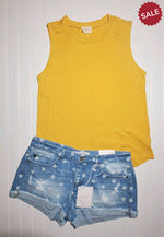Load image into Gallery viewer, DISTRESSED BOYFRIEND TANK-Tank-143 Story-Litchfield Lane Boutique