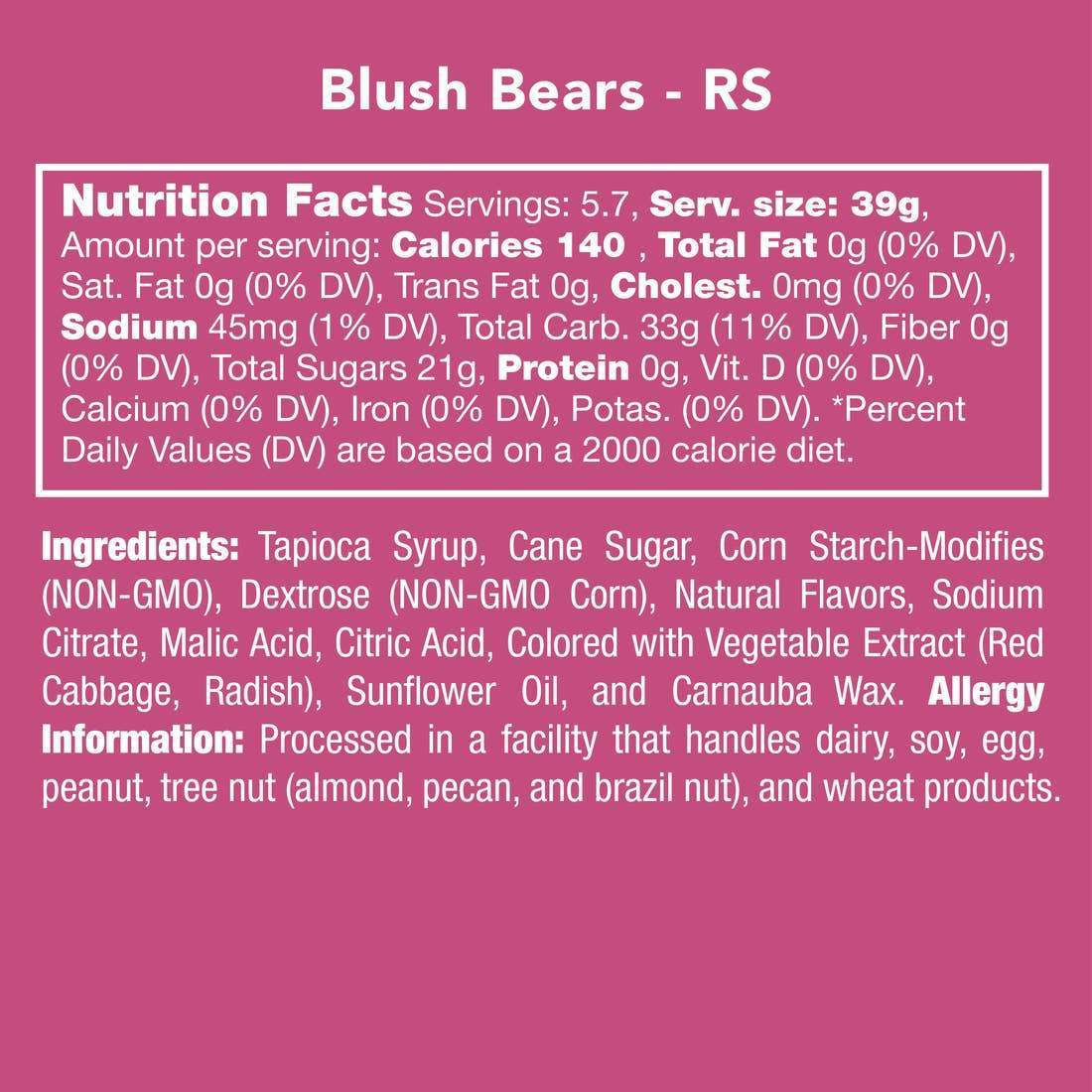 GUMMY BLUSH BEARS-Candy-Candy Club-Litchfield Lane Boutique