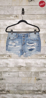 Load image into Gallery viewer, JOJO LOW RISE DISTRESSED-Shorts-KanCan-Litchfield Lane Boutique