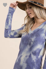 Load image into Gallery viewer, NIGHTS SKY TYE DYE TOP-Top-Ces Femme-Litchfield Lane Boutique