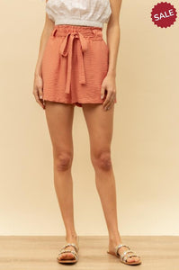 TIE KNOT SHORTS-Shorts-Hem & Thread-Litchfield Lane Boutique