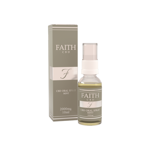 Faith CBD Mint Oral Spray 2000mg