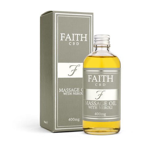 Faith CBD Massage Oil with Neroli 400mg